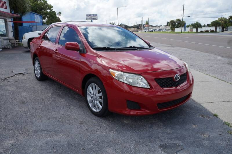 2009 Toyota Corolla for sale at J Linn Motors in Clearwater FL