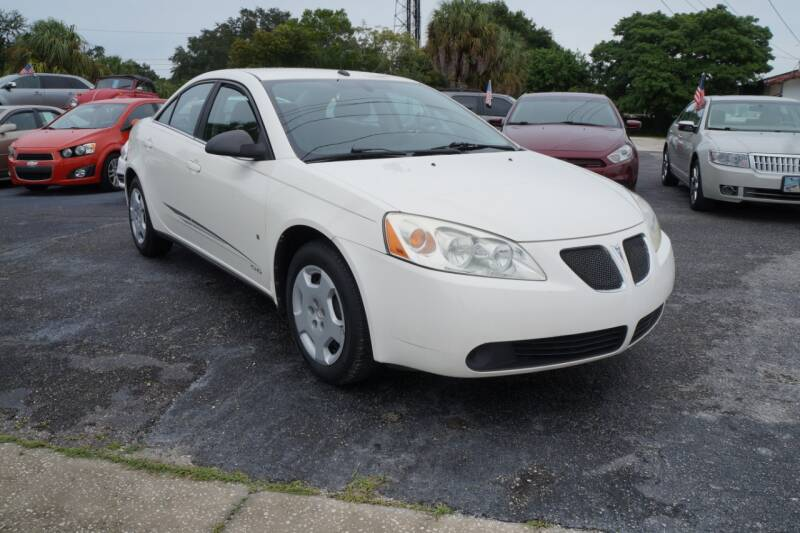 2008 Pontiac G6 for sale at J Linn Motors in Clearwater FL