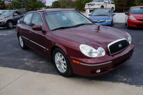 2002 Hyundai Sonata for sale at J Linn Motors in Clearwater FL