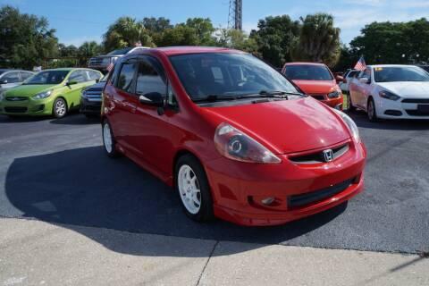 2007 Honda Fit for sale at J Linn Motors in Clearwater FL
