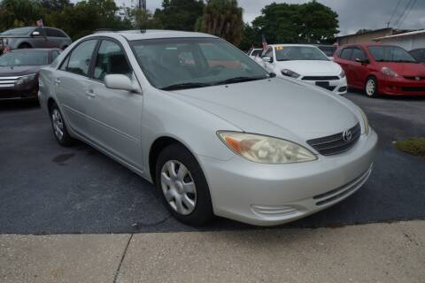 2004 Toyota Camry for sale at J Linn Motors in Clearwater FL