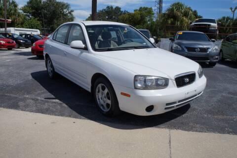 2001 Hyundai Elantra for sale at J Linn Motors in Clearwater FL