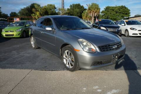 2006 Infiniti G35 for sale at J Linn Motors in Clearwater FL