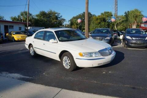 2002 Lincoln Continental for sale at J Linn Motors in Clearwater FL