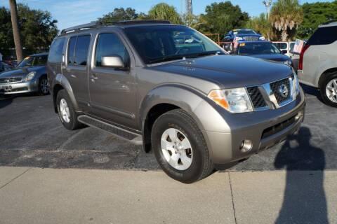 2005 Nissan Pathfinder for sale at J Linn Motors in Clearwater FL