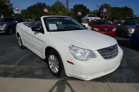 2008 Chrysler Sebring for sale at J Linn Motors in Clearwater FL