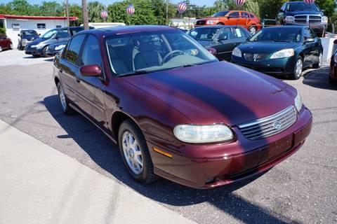 1998 Chevrolet Malibu for sale at J Linn Motors in Clearwater FL