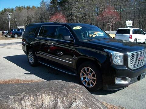 2015 GMC Yukon XL for sale in Brentwood, NH