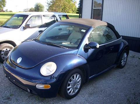 2005 Volkswagen New Beetle for sale at Wares Auto Sales in Clay City KY