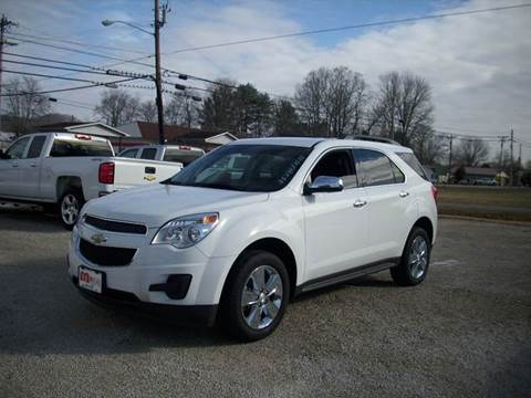 2015 Chevrolet Equinox for sale at Wares Auto Sales in Clay City KY