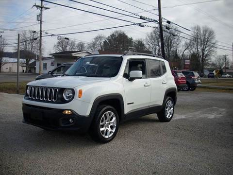 2016 Jeep Renegade for sale at Wares Auto Sales in Clay City KY