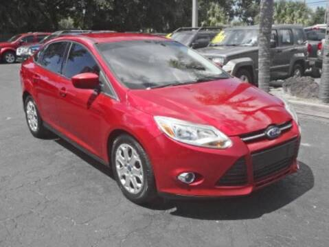 2012 Ford Focus for sale at DONNY MILLS AUTO SALES in Largo FL