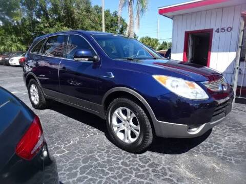 2008 Hyundai Veracruz for sale at DONNY MILLS AUTO SALES in Largo FL