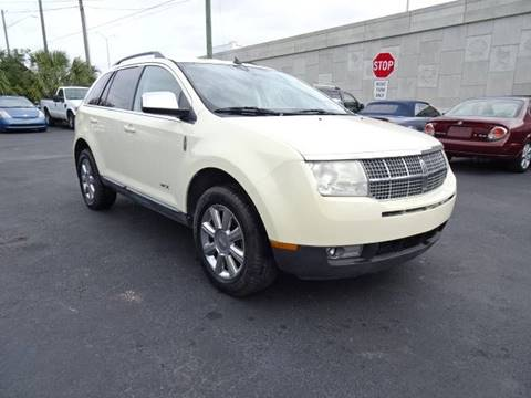 2008 Lincoln MKX for sale at DONNY MILLS AUTO SALES in Largo FL