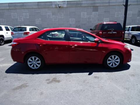 2014 Toyota Corolla for sale at DONNY MILLS AUTO SALES in Largo FL