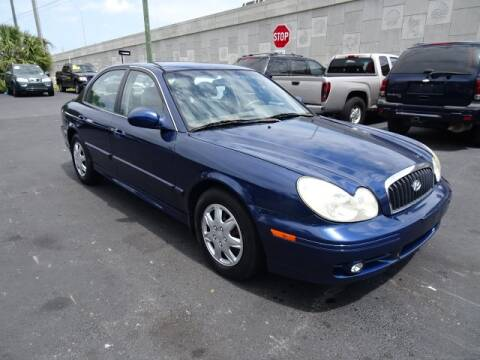 2005 Hyundai Sonata for sale at DONNY MILLS AUTO SALES in Largo FL