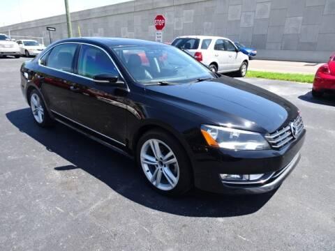 2013 Volkswagen Passat for sale at DONNY MILLS AUTO SALES in Largo FL
