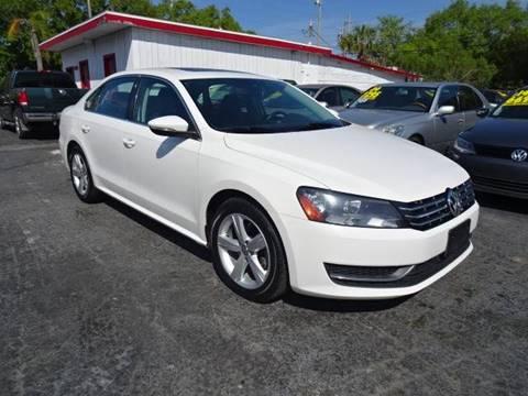 2012 Volkswagen Passat for sale at DONNY MILLS AUTO SALES in Largo FL