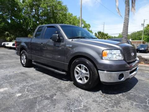 2006 Ford F-150 XLT for sale at DONNY MILLS AUTO SALES in Largo FL