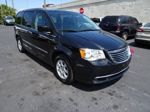 2012 Chrysler Town and Country Touring for sale at DONNY MILLS AUTO SALES in Largo FL