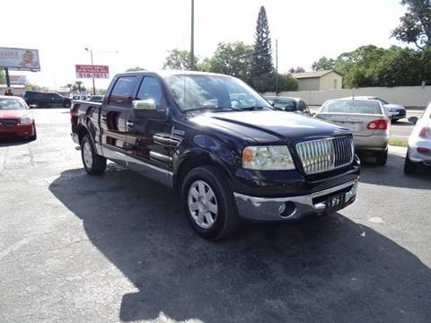 2006 Lincoln Mark LT for sale at DONNY MILLS AUTO SALES in Largo FL