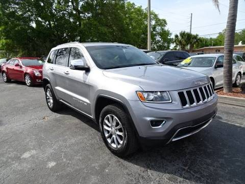 2014 Jeep Grand Cherokee Limited for sale at DONNY MILLS AUTO SALES in Largo FL