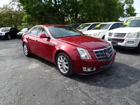 2008 Cadillac CTS 3.6L V6 for sale at DONNY MILLS AUTO SALES in Largo FL