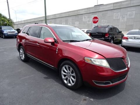 2013 Lincoln MKT for sale at DONNY MILLS AUTO SALES in Largo FL