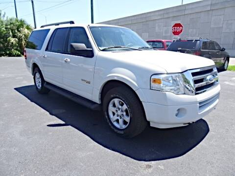 2008 Ford Expedition EL for sale at DONNY MILLS AUTO SALES in Largo FL