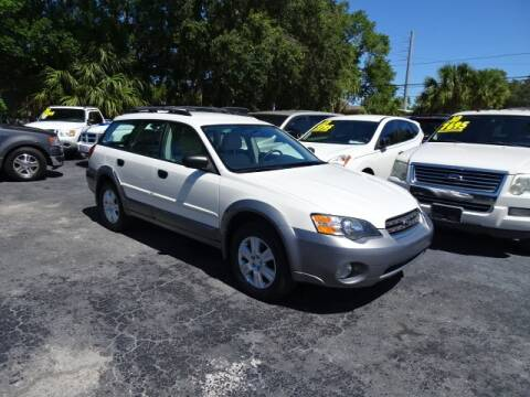 2005 Subaru Outback for sale at DONNY MILLS AUTO SALES in Largo FL