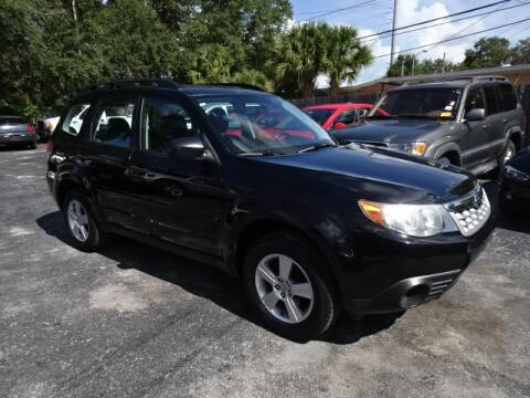 2012 Subaru Forester for sale at DONNY MILLS AUTO SALES in Largo FL