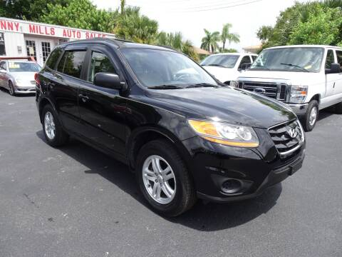 2010 Hyundai Santa Fe for sale at DONNY MILLS AUTO SALES in Largo FL