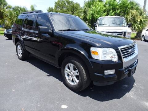 2010 Ford Explorer for sale at DONNY MILLS AUTO SALES in Largo FL