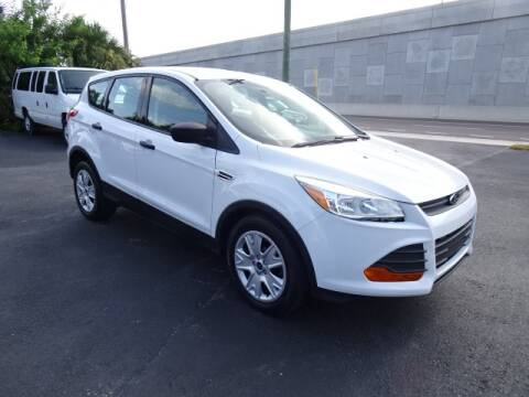 2015 Ford Escape for sale at DONNY MILLS AUTO SALES in Largo FL