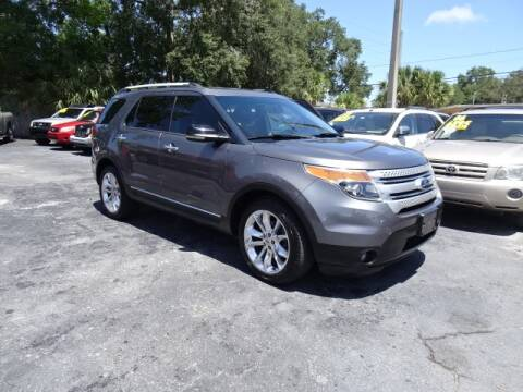 2013 Ford Explorer for sale at DONNY MILLS AUTO SALES in Largo FL