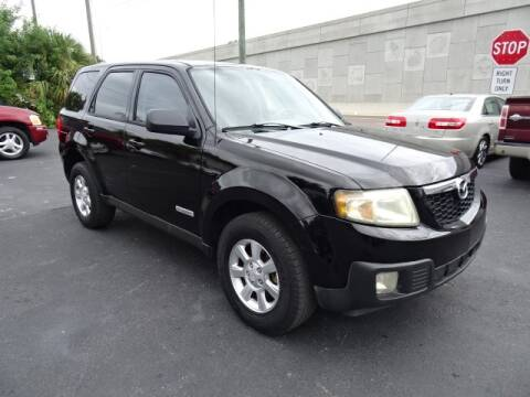 2008 Mazda Tribute for sale at DONNY MILLS AUTO SALES in Largo FL
