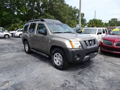 2007 Nissan Xterra for sale at DONNY MILLS AUTO SALES in Largo FL