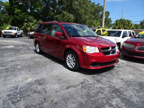 2014 Dodge Grand Caravan for sale at DONNY MILLS AUTO SALES in Largo FL