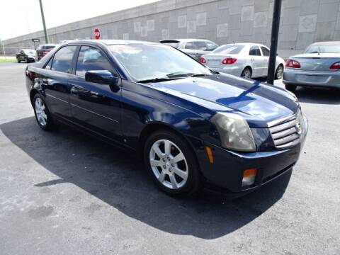 2006 Cadillac CTS for sale at DONNY MILLS AUTO SALES in Largo FL