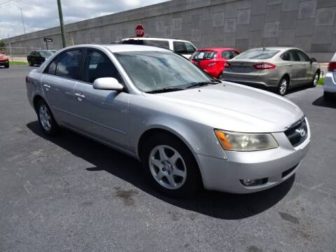2006 Hyundai Sonata for sale at DONNY MILLS AUTO SALES in Largo FL