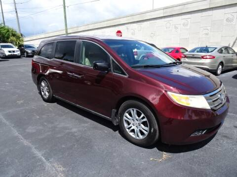 2011 Honda Odyssey for sale at DONNY MILLS AUTO SALES in Largo FL