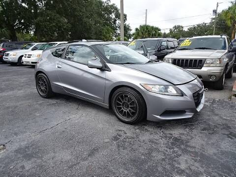 2011 Honda CR-Z for sale at DONNY MILLS AUTO SALES in Largo FL