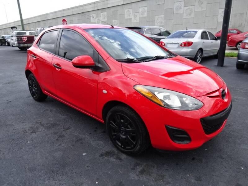 2013 Mazda MAZDA2 for sale at DONNY MILLS AUTO SALES in Largo FL