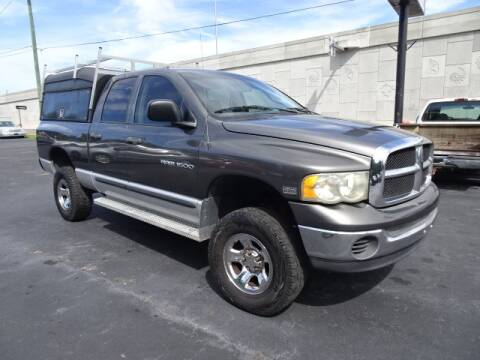 2004 Dodge Ram Pickup 1500 for sale at DONNY MILLS AUTO SALES in Largo FL