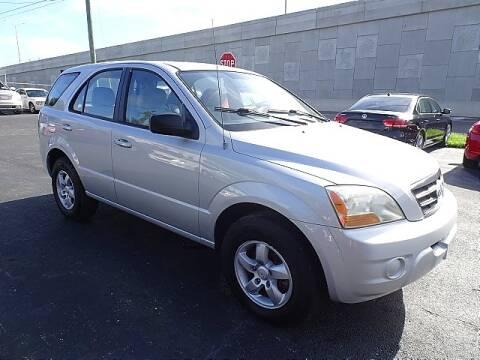 2008 Kia Sorento for sale at DONNY MILLS AUTO SALES in Largo FL