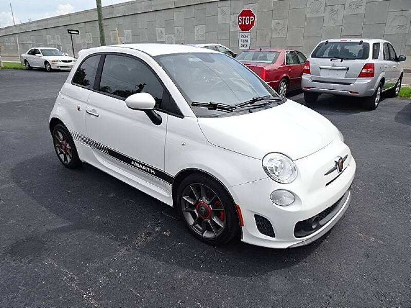 2015 FIAT 500 for sale at DONNY MILLS AUTO SALES in Largo FL