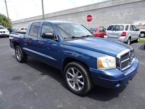 2006 Dodge Dakota for sale at DONNY MILLS AUTO SALES in Largo FL