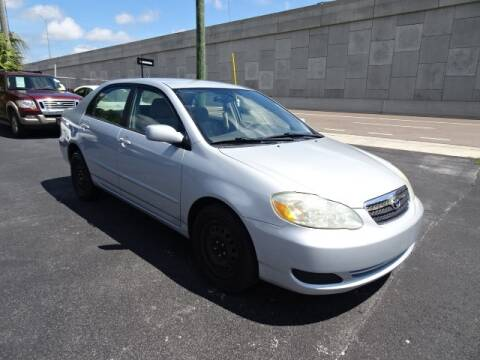 2006 Toyota Corolla for sale at DONNY MILLS AUTO SALES in Largo FL