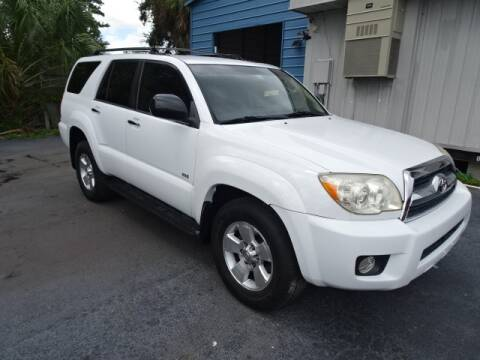 2007 Toyota 4Runner for sale at DONNY MILLS AUTO SALES in Largo FL