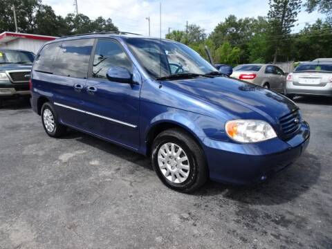 2002 Kia Sedona for sale at DONNY MILLS AUTO SALES in Largo FL